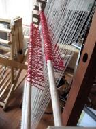 11_heddle rod raised