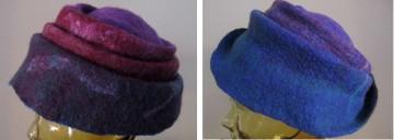 reversible blue hat